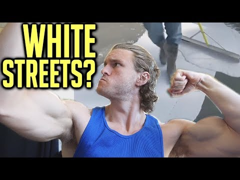 World News (LA's Painting Streets White?! Cali Breaking Into