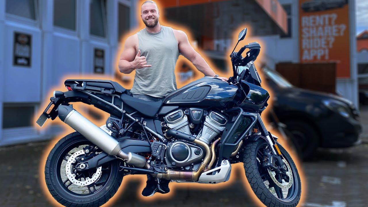 Ich teste die Harley Davidson Pan America Special - 😖 Offroad fahren geht schief 😖