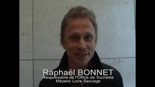 Interview de Raphael Bonnet - E-tourisme en Haute-Loire