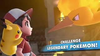 Pokémon: Let's Go, Pikachu! and Let's Go, Eevee! Legendary Birds Revealed | A Whole New Way to GO!