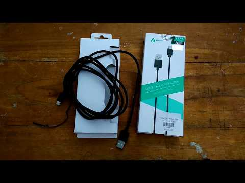Unboxing Aukey DB-D9 Micro USB Cable | Bahasa Indonesia