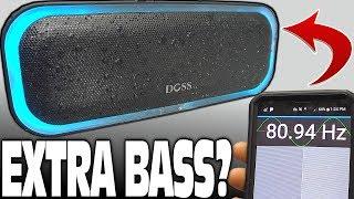 """EXTRA BASS"" Bluetooth Speaker w/ LED Lights & Dual Passive Radiators | 20w DOSS SoundBox Pro Review"