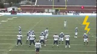 Lionel Gillespie #52 DE/OLB Southeastern Oklahoma State University 2009 junior yr highlight