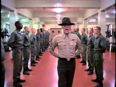 Full Metal Jacket Happy Birthday Jesus Youtube