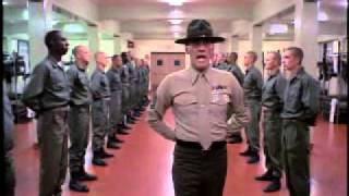 Full Metal Jacket! Happy Birthday Jesus.