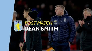 POST MATCH | Dean Smith on Sheffield Utd defeat