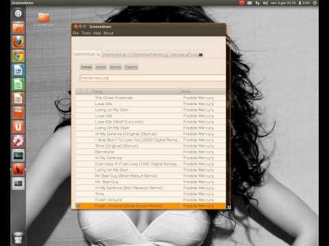 GrooveDown,scaricare musica su Linux