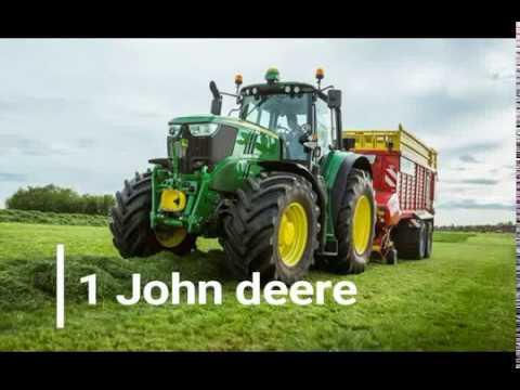 top 10 des tracteurs agricoles youtube. Black Bedroom Furniture Sets. Home Design Ideas