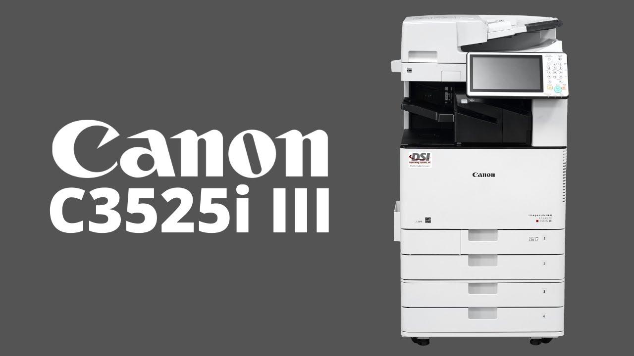 CANON IRAC 3525i