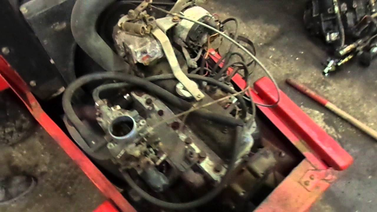 medium resolution of toro groundsmaster 327 continental r08 engine demonstration
