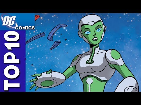 Top 10 Aya Moments From Green Lantern: The Animated Series