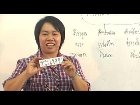 การสร้างคำในภาษาไทย  Part 2