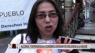 25/11/2015-20:09 ALCOHOL Y DEPENDENCIA ECONÓMICA DERIVAN EN VIOLENCIA A LA MUJER