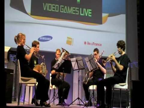Tetris Music : Tetris ABC - Fantasy Brass Quintet