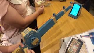 switch釣魚遊戲組 親子樂園玩具開箱 姐姐玩釣魚 LABO