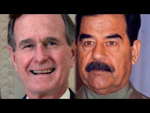 Wikileaks Reveals Saddam And Bush Negotiated Before Kuwait Invasion