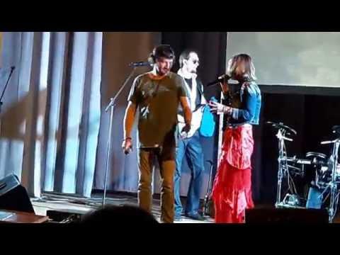 Сергей Вольный рвет грелку на концерте в г. Сальск (22.03.2016)