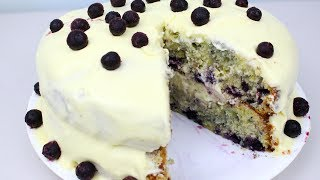 Blueberry & Lemon Cake