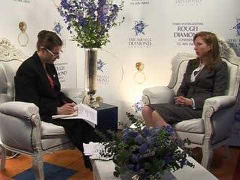 Israeli Diamond Industry Portal :Eira Thomas Interview