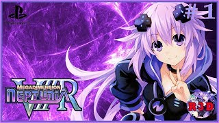 First 2 Hours of Gameplay - Megadimension Neptunia VIIR English Walkthrough Part 1   PS4 Pro