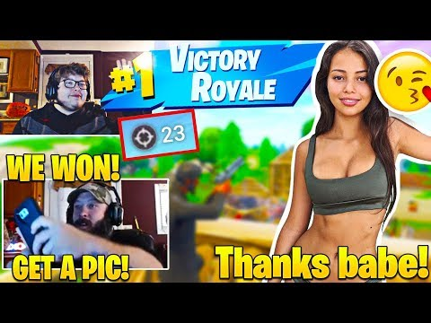 GHOST AYDAN Carries His DAD And GIRLFRIEND In Fortnite Squads! *HILARIOUS*