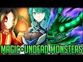 NEW UNDEAD DRAGON - Insane Magic Spells - Dark Souls VS Pro and Noob - Monster Hunter World PC Mods!