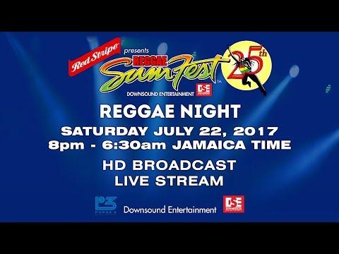 SATURDAY JULY 22  REGGAE SUMFEST 2017 HD BROADCAST LIVE STREAM
