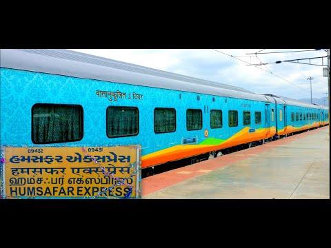 MUMBAI to CHENNAI | A Beautiful Train Journey by HUMSAFAR Express | Indian Railways