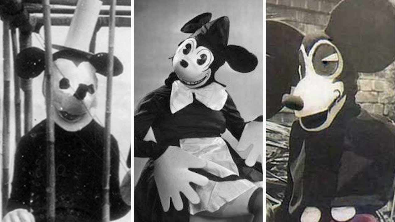 Evolution Of Creepy Mickey Mouse Vintage Halloween Costumes