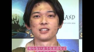 人気急上昇中の俳優・吉沢亮さんが大型ハロウィンイベント『JACK-O-LAND(...