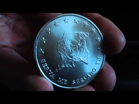 Silver Unboxing: 2013 Suriname Silver Bullion 10 Dollar One Ounce Coin