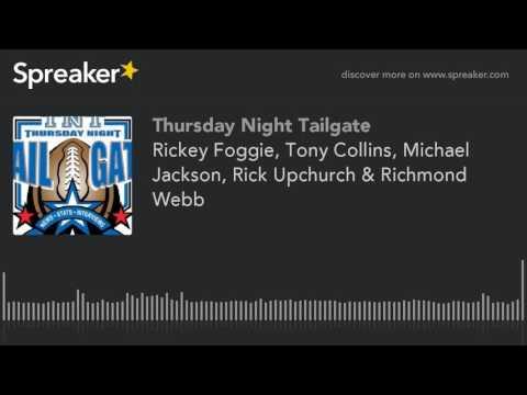 Rickey Foggie, Tony Collins, Michael Jackson, Rick Upchurch & Richmond Webb
