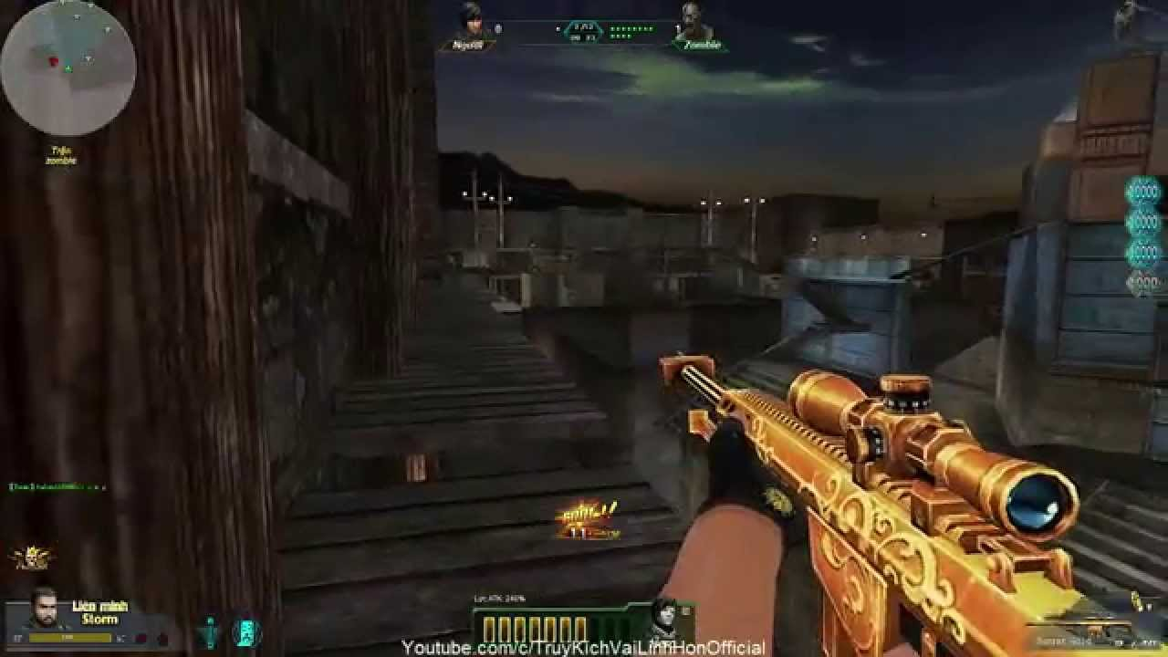 [Truy Kich] Game Play: 3Z GOLD zombie Khu Mỏ VaiLinhHon (Kênh Chính Thức) -  YouTube