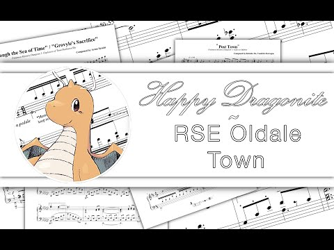 RSE Oldale Town (Piano)
