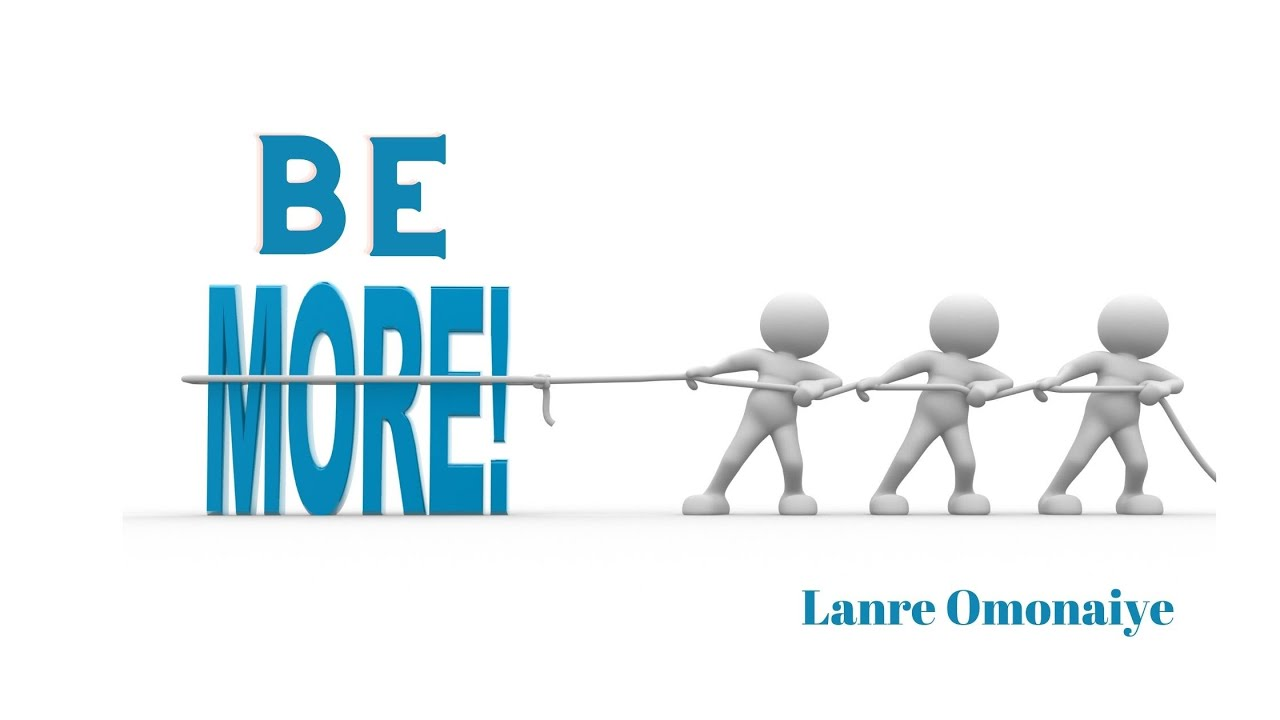 10:00 AM   September 12, 2021   MESSAGE   What is More   Lanre Omonaiye
