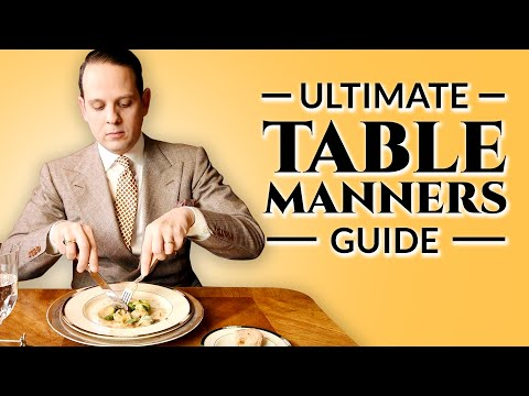 Table Manners – Ultimate How-To Guide To Proper Dining Etiquette For Adults & Children
