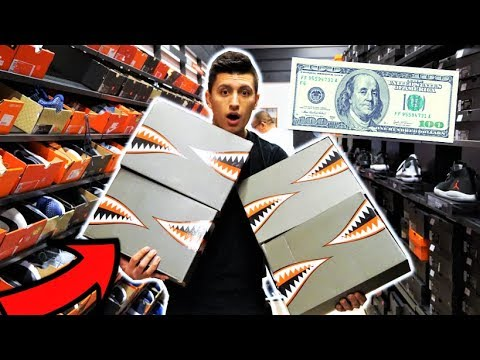 BEST $100 NIKE OUTLET SNEAKERS! THEY HAD 4 PAIRS!