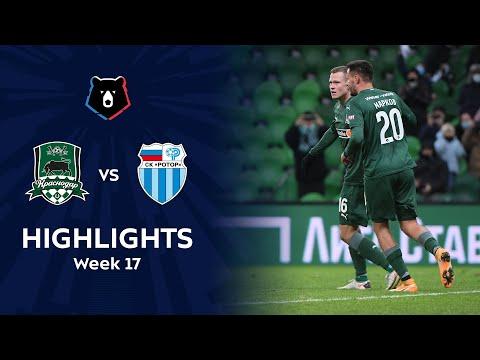 Krasnodar FK R. Volgograd Goals And Highlights