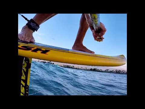 The Silent Glide  Foil boarding your sup with Chuck Patterson
