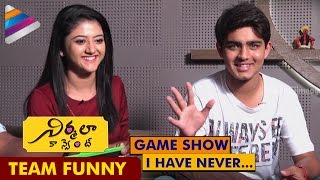 Video Nirmala Convent Movie Team Funny Game Show | Roshan Opens Up about his Love Affair download MP3, 3GP, MP4, WEBM, AVI, FLV September 2018