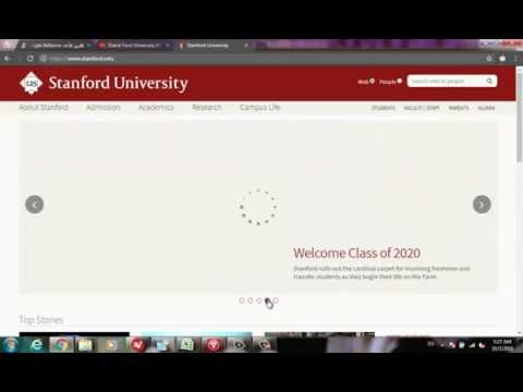 stanford online program by talk