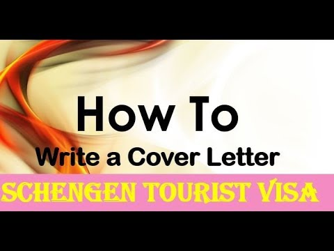 Schengen Tourist Visa Cover Letter | How To Make Cover Letter For Visa