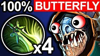 BUTTERFLY SLARK DOTA 2 PATCH 7.06 NEW META PRO GAMEPLAY