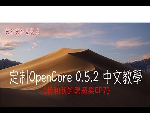 《我和我的黑蘋果EP07》|Z390| 定制 OpenCore 052 中文教學