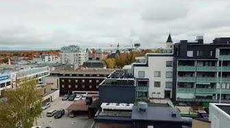 Näkymiä ylimmistä kerroksista   Snelmanninkatu 10, Lappeenranta