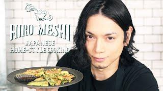 """#22 How To Cook """"GLUTEN-FREE KOREAN PANCAKE WITH FULL OF VEGGIES"""" / Hiro Mizushima(水嶋ヒロ)"""