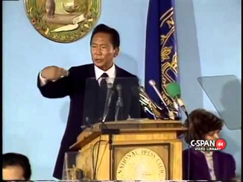 Philippine Most Intelligent President Ferdinand Marcos (September 17, 1982)