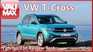"""2019 VW T-Cross """"Life"""" im Fahrbericht & Check // Alle Details zum kleinsten VW-SUV by VAU-MAX.tv"""