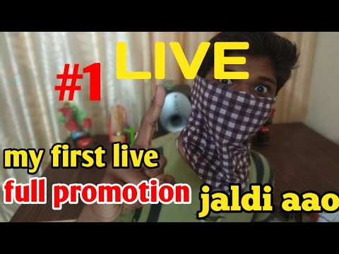 My Live ,Full Promotion Aa Jao/#1 Live