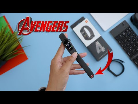 Unboxing Xiaomi MI Band 4 - AVENGERS STRAP EDITION